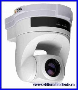 Видеонаблюдение  при помощи видеокамеры Axis