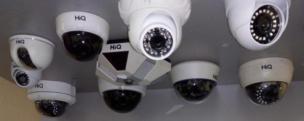 Видеокамеры HiQ для систем видеонаблюдения продаем за наличный и безначилный расчет